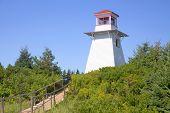 Cabot Park Lighthouse, Prince Edward Island, Canada.