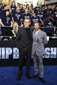 LOS ANGELES - MAY 10: Erich Hoeber, Jon Hoeber at the premiere of Universal Pictures' 'Battleship' a