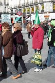Madrid Protests Against Bankia