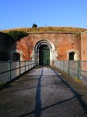 Victorian Fort Brockhurst Main Gate (long View)
