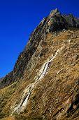 Постер, плакат: Водопад в Cordiliera бланка Перу Южная Америка