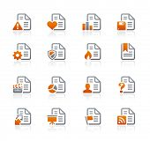 Documents Icons - 2 // Graphite Series