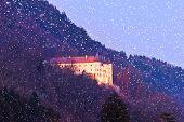 Постер, плакат: Тратцберг замок Тироль Австрия