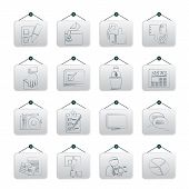 Voting and elections icons