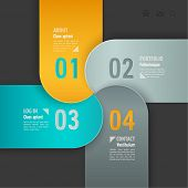 Web template. Vector illustration.
