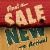 Final Sale, New Arrival - vintage burned paper template