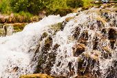 Close Up Of A Waterfall, Krka National Park, Croatia
