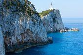 Rocky Cape Of Lefkas Island (greece)