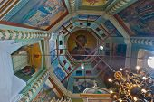 The Interior Of Chapel Of St. Basil's Cathedral