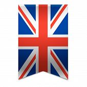 Ribbon Banner - British Flag