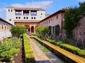 Generalife In Granada, Spain