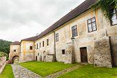 Gothic Cistercian monastery in Zlata Koruna, Czech Republic
