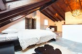 stock photo of chalet interior  - Interior - JPG
