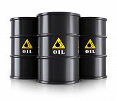 stock photo of drums  - Creative abstract oil and gas industry business concept - JPG