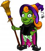 Witch Cartoon character