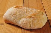Loaf Of Ciabatta Bread