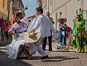 La Marinera, Peruvian Dance