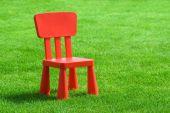 Постер, плакат: Маленький красный стул