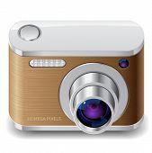 Icon For Compact Photo Camera