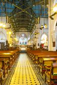 Famous St. Johns Cathedral In Hong Kong
