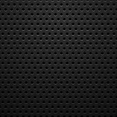 Black metal texture with holes