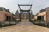 Beautiful Castle 'twickel' With Castle-moat And Drawbridge Near Delden In The Netherlands