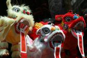 A Chinese Dragons Heads.