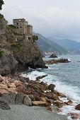 Monterosso Beach And Tower