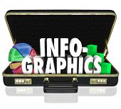 Infographics Word Briefcase Sales Presentation Proposal Data