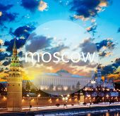 Word Moscow And Moscow Kremlin In The Early Morning