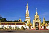 Phra That Phanom And Blue Sky