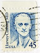 Harvey Cushing Stamp