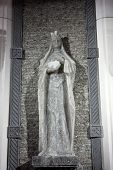 Cracow Lagiewniki - The centre of Pope John Paul II. Unique reliefs from salt in the chapel St Kinga