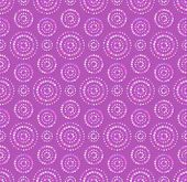 Dots circles seamless pattern in shades of lilac