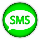 Sms Green Web Icon