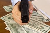pic of glock  - Robbery with the use of a gun - JPG