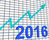 Twenty Sixteen Graph Chart Shows Increase In 2016