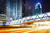foto of hong kong bridge  - Busy traffic in Hong Kong - JPG