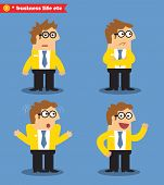 Business emotions icons