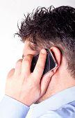 Man Talking On The Smart Phone