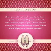 pic of cinderella  - Cinderella princess invitation card template vector illustration - JPG