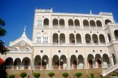 picture of gandhi  - A beautiful palace in Pune - JPG