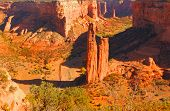 Beautiful Image of the spider Rock canyon De Chelly