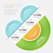 Creased Loop Infographic