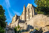 foto of mont saint michel  - In the streets in Mont Saint - JPG