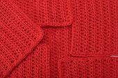 Red Knitted