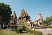 Lakshmana Temple At Khajuraho,india,madhya Pradesh