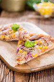 Fresh Made Tuna Pizza