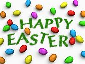 image of happy easter  -