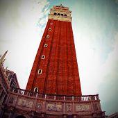 Campanile Of Saint Mark In Venice